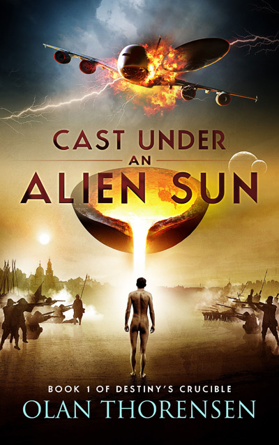Cast Under and Alien Sun - Destiny's Crucible Book #1